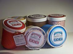 Kreativ im Norden: Aufgehübschte Suppenbecher, Birthday Cake