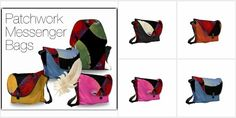 Bright color adorn these wonderful patchwork design courier bags. Source: Patchwork Messenger Bags Shop allsmall messenger bags Shop allmedium messenger bags Shop alllarge messenger bags All min…