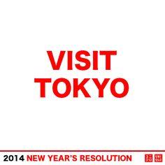 #2014 #newyear #resolution #uniqlo
