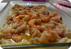 """lasagna """"che voglia di mare"""" - sfida datti all'ittica -"""