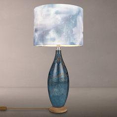 Buy Voyage Thalassa Table Lamp, Sapphire Online at johnlewis.com