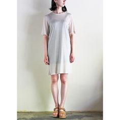 "SEMIS PARIS - TEE DRESS ""GATTU""・セミパリ"