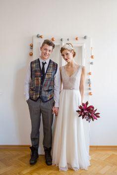 Urban Chic Hochzeit zu Hause in Kupfer und Mint und 1 x DIY Deko zu gewinnen | Hochzeitsblog - The Little Wedding Corner