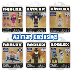 Roblox Celebrity Skating Rink Figure Pack