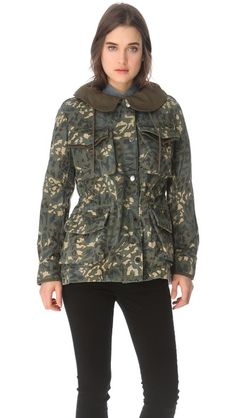 Marc by Marc Jacobs Forks Parka Jacket ; to die for!