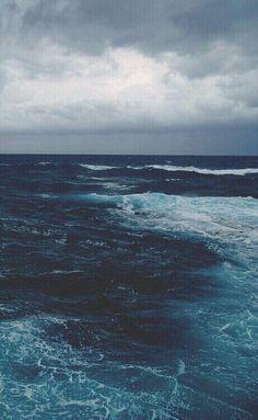 sea, ocean, and blue Bild