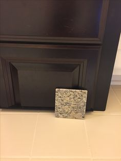 Tahoe Expresso cabinet and Santa Cecilia light granite
