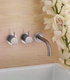 Products | VOLA Black Vanity Bathroom, Bathroom Taps, Bathroom Photos, Bathroom Hardware, Bathroom Interior, Black Bathrooms, White Bathroom, Bathroom Ideas, Contemporary Bathrooms