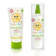 If you're nervous about spray suntan lotions for kids, check out the safe choices from Babyganics.