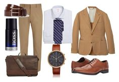 """Sommer 2017 man 60 years - plus style business"" by lenka-sykackova on Polyvore featuring MANGO MAN, Joseph, Gordon Rush, Brooks Brothers, Kenneth Cole Reaction, Uniform Wares, HUGO, men's fashion and menswear"