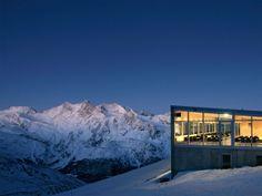 Bergrestaurant Hohsaas 3200m Saas Fee, Cozy Apartment, Hostel, 5 Star Hotels, Mount Everest, Adventure, Luxury, Modern, Travel