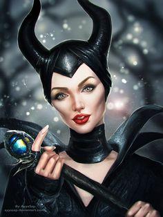 Maleficent by AyyaSap on DeviantArt