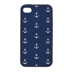 Printed iPhone Case by J.Crew -this would have gone perfectly with my anchor away bathing suit!