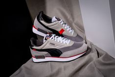 Sneakers Mode, Sneakers Fashion, Puma Sneakers, Skater Outfits, Reebok, Puma Outfit, Super Mario, Sneaker Trend, Slippers