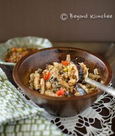Mushrrom Rice Bowl