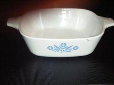 Vtg.Corning Ware P-43-B Blue Cornflower Petite Pan w/o Lid #CorningWare