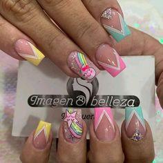 Manicure, Nails, Beauty, Women, Work Nails, Vestidos, Long Nail Art, Short Nail Manicure, Nail Manicure