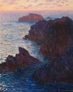 Rocks at Belle-lle, Port-Domois (1886)