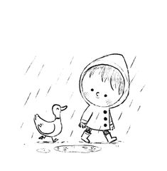 Sketches and doodles by Chris Chatterton Easy Doodles Drawings, Cool Art Drawings, Art Drawings Sketches, Cartoon Drawings, Cartoon Art, Children's Book Illustration, Illustrations, Whimsical Art, Doodle Art