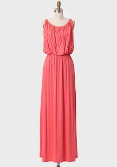 Summer's End Maxi Dress