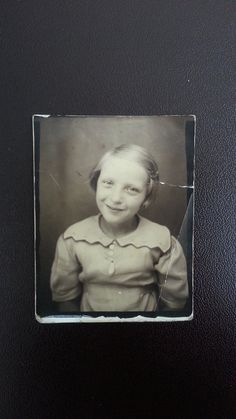 Happiness  . . .Vintage Photo Snapshot Photo Booth