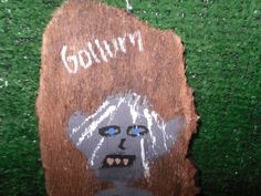 Here is the spooky Gollum. The student surprised herself on its creation.