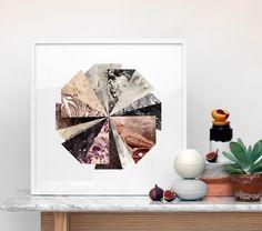Kristina Krogh Art Print Lucky Wheel Multi 50x50