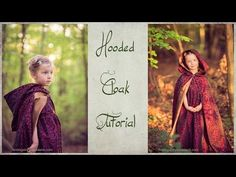 Hooded Cloak Tutorial - How to sew a lined, hooded cape - YouTube