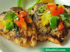 Baked Pepper Fish - Baked fish keeps you away from heart diseases and increases generation of brain cells. Using a variety of peppers, along with some chilli powder, ensures you a peppy, healthy meal.