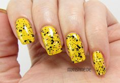 Simple Yellow Nails mit Good Grief! (OPI, Peanuts Collection)