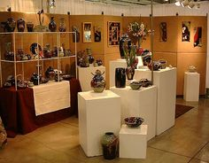 Craft Fair Booth Ideas | Typical indoor arts/crafts show booth for us. | Flickr - Photo Sharing ...