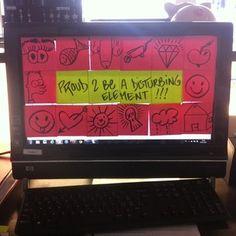 Bildschirme bekleben ist auch eine Idee | 20 Aprilscherze fürs Büro