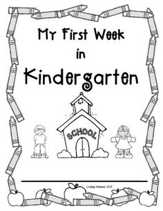 This little packet is a great first week of school activity for your kindergarten students to complete, a little bit at a time.  The activities can help to serve as an assessment of the student's knowledge of numbers, letters, name writing and fine motor skills as well!