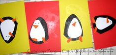 Kids Craft: Easy Paper Penguinshttp://the-joy-of-my-life-and-other-things.blogspot.com/2010/12/kids-craft-easy-paper-penguins.html