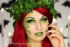 Poison Ivy Halloween Tutorial                                                                                                                                                                                 Mehr