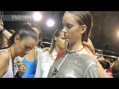 AIGNER Backstage and Interview Spring Summer 2014 Milan HD by Fashion Channel http://www.youtube.com/watch?v=0HeXVT3oPpI #FashionChannel
