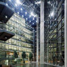 Sanomatalo, Kluuvi, Helsinki. Arkkitehtitoimisto/ Architect office SARC - The headquarters of the biggest newspaper in Finland, Helsingin Sanomat.