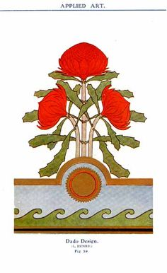 waratah - Google Search Australian Wildflowers, Australian Flowers, Australian Plants, Australian Art, Art Nouveau, Art Deco, Native Australians, Plant Art, Irish Dance