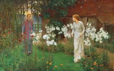 "Beatrice Emma Parsons (1869-1955), ""Annunciation"" 