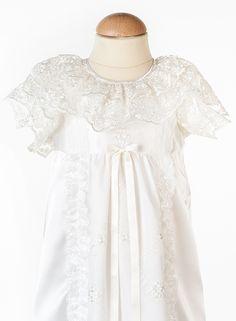 Estelle lyx vår exklusiva dopklänning till små sessor, Christening gown