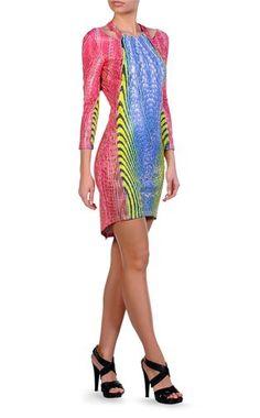 Abito corto Donna - Vestiti Donna su Just Cavalli Online Store