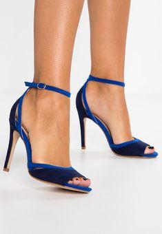 590c1afba0e5ac Anna Field High heeled sandals - blue - Zalando.co.uk Blue Sandals Heels