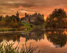 Linlithgow palace, Scotland.