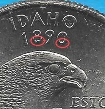 2007 P - IDAHO STATE QUARTER ERROR COIN - REVERSE (2) DIE CHIPS - UNCIRCULATED Old Coins Worth Money, Old Money, Old Coins Value, Valuable Coins, Coin Worth, Copper Penny, Error Coins, Coin Values, Money Saving Challenge