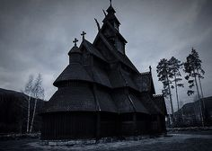 Gol nye stavkirke. / New Stave Church in Gol, Norway. (This photo is about three years old, I took it in 2013.) - Norse Faery.