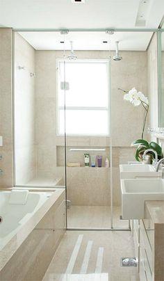 10 banheiros com chuveiros duplos - Casa