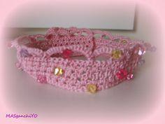 Corona de princesa de ganchillo/crochet