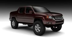 Five Reasons You Should Fall In Love With Honda Cool Trucks Honda Civic Hatchback, Honda Crv, Honda Truck, Future Trucks, Honda Ridgeline, 2013 Honda, Trucks And Girls, Honda Pilot, Cool Trucks