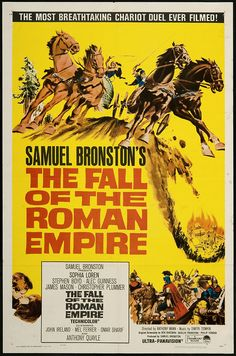 2/01/15  9:21p   Paramount Pictures  Samuel Bronston Productions ''The Fall of the Roman Empire''  Sophia Loren Stephen Boyd Christopher Plummer  1964