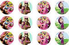 Resultado de imagem para masha and the bear birthday decorations